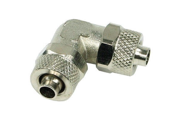 8/6mm (6x1mm) L tubing connector