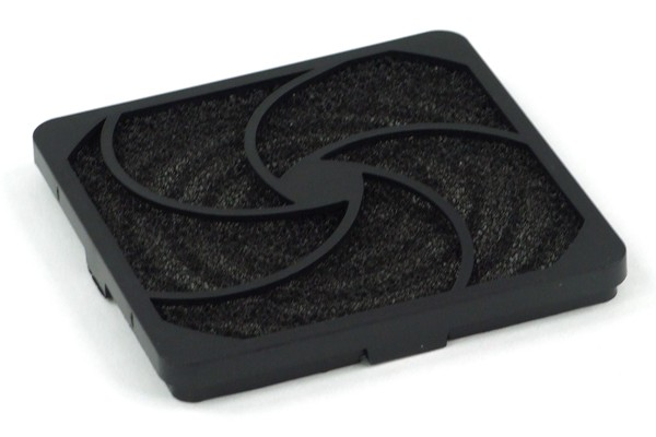 Vibration damper 92mm fans black